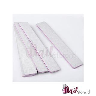 Model 04-Nail Files Nail File Buffer Sanding Files 100 180 Alat kikir kuku kikiran kuku thumbnail