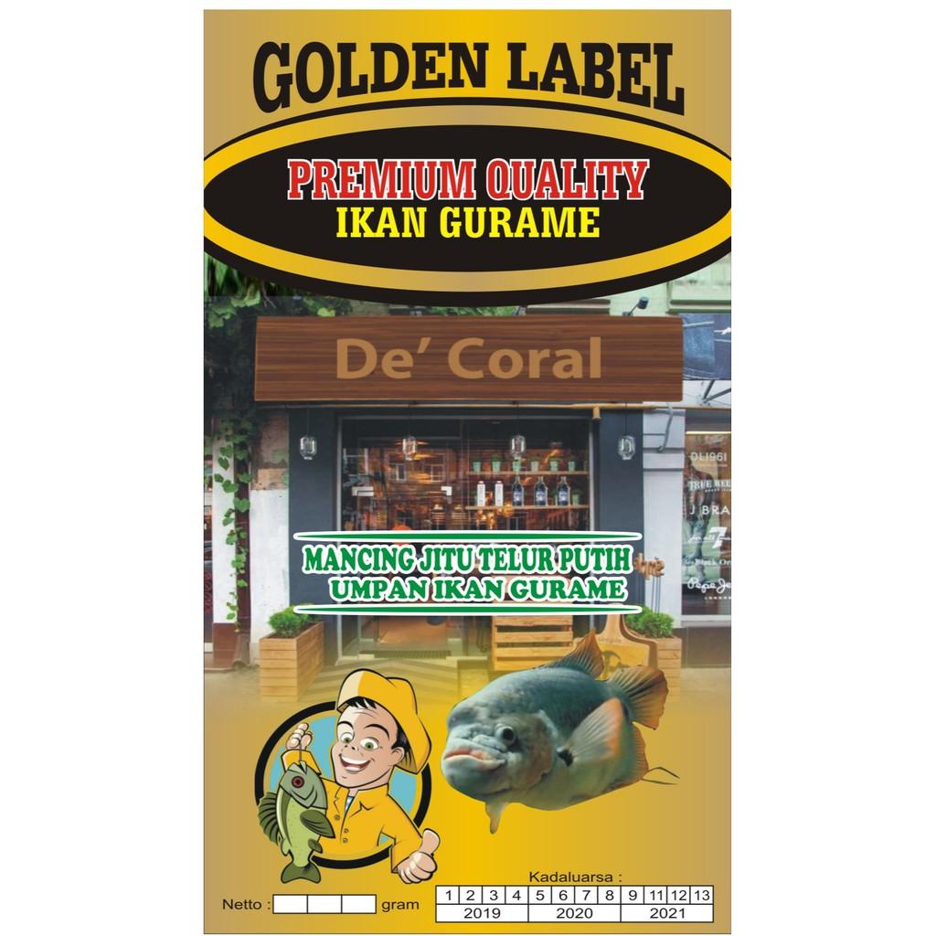 Umpan Ikan Gurame Galatama Golden Label Umpan Pancing Gurame Shopee Indonesia