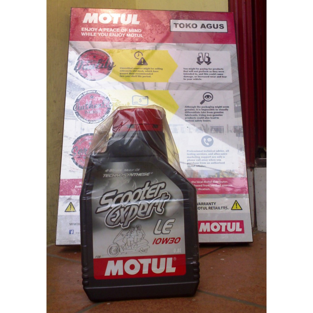 Motul Scooter Le Oli Motor Matic 08l 10w30 100 Originale Shopee Indonesia
