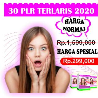 Paket lengkap 30 Produk PLR bisnis online | Shopee Indonesia