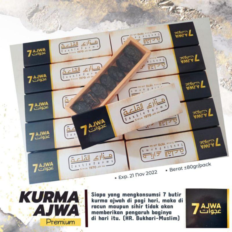 Kurma Ajwa Eksklusif (Kemasan 7 Butir)