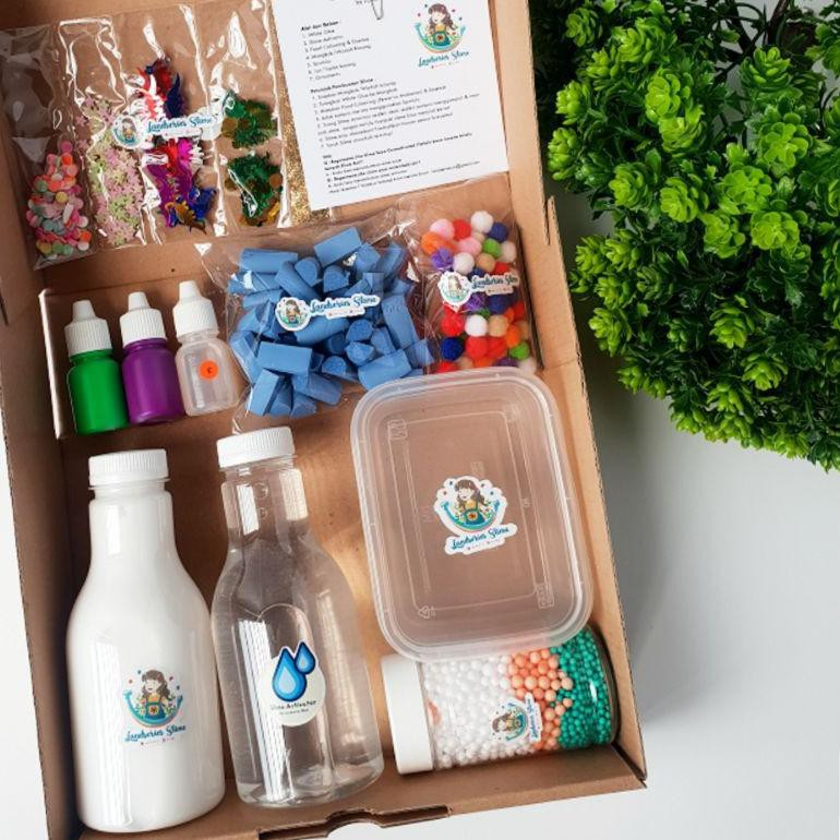 Ayo Beli DIY Mini Slime Kit by Landseries Slime | Bahan Slime