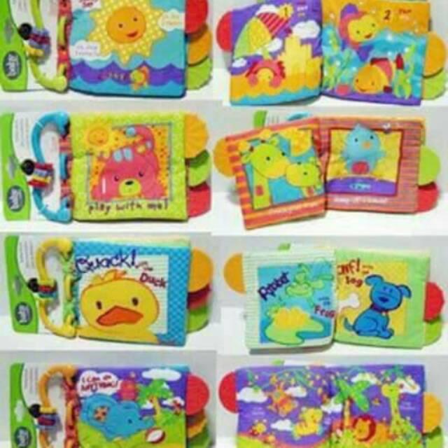 Teether Book Carter Mainan Bayi Buku Bantal Bayi  cbf04ef498