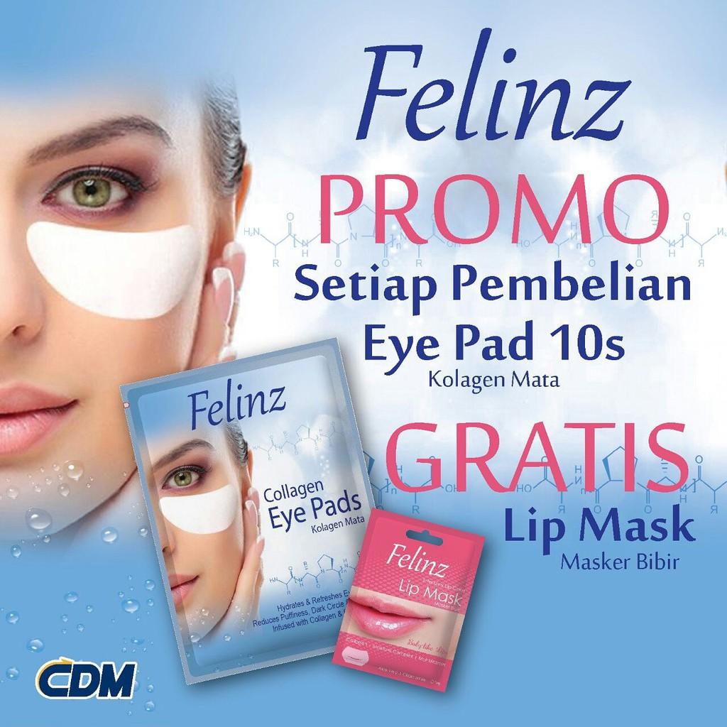 FELINZ COLLAGEN EYE PADS | Shopee Indonesia -. Source · Masker Mata Crystal Collagen Eye Mask ...