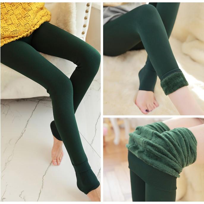 Bayar Di Tempat Celana Panjang Legging Slim Fit Casual Untuk Musim Dingin Gugur Celana Harian Shopee Indonesia