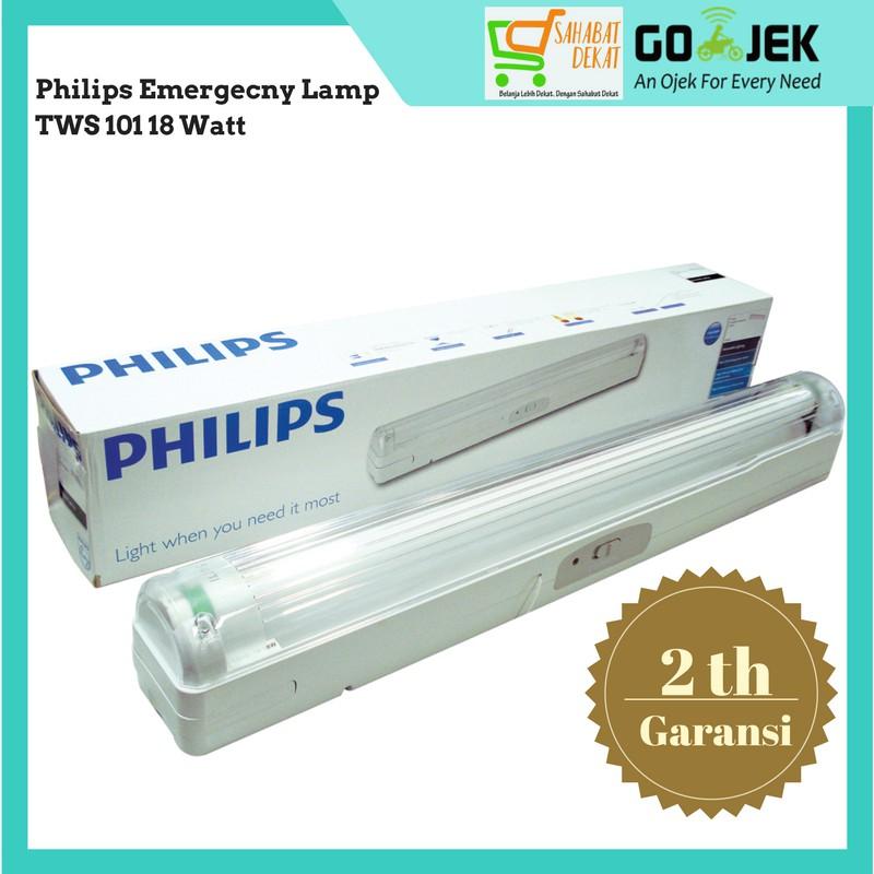 Lampu Emergency Philips TWS 101 18 Watt | Shopee Indonesia