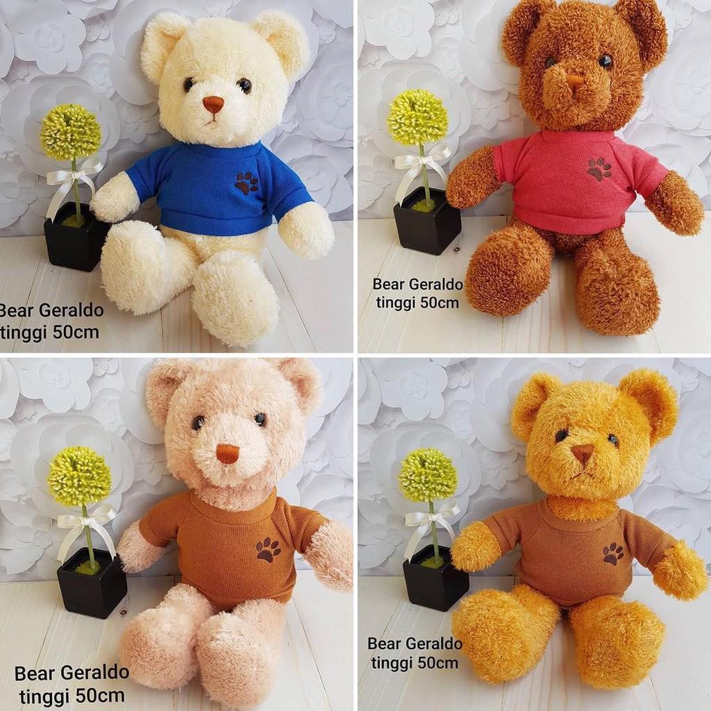 Cute Lamb Stuffed Animals, Teddy Bear 50cm Shopee Indonesia