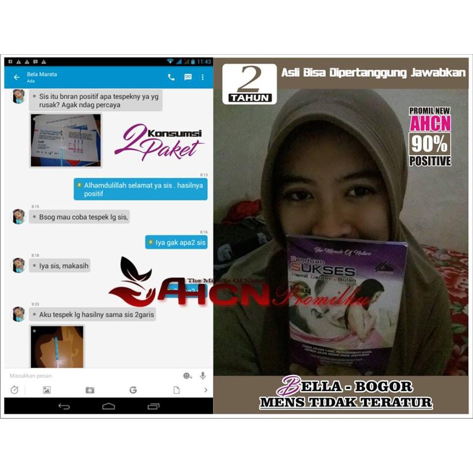 Promil Ahcn Obat Kehamilan Terbukti Terpercaya Shopee Indonesia Paket Penyubur Pengental Penambah Sperma Pria Wanita Agar Cepat Hamil Dan Punya Anak