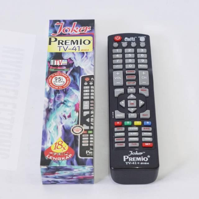 Remot Tv Multi Joker 18x Shopee Indonesia