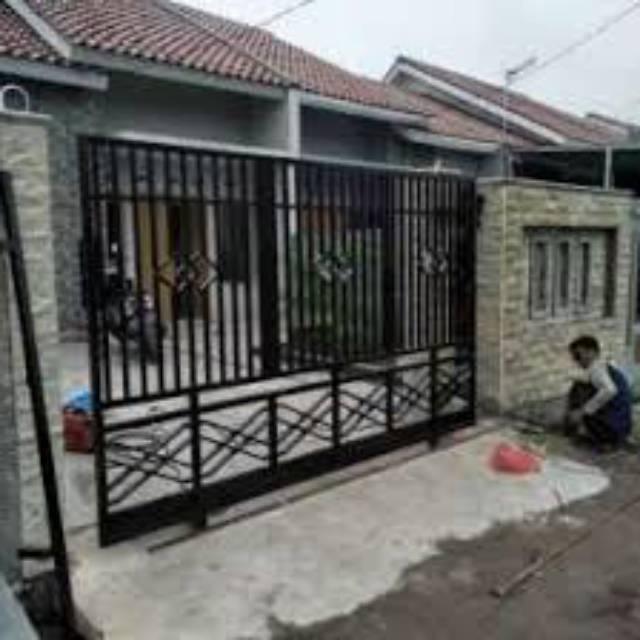 Pintu Pagar Minimalis | Shopee Indonesia