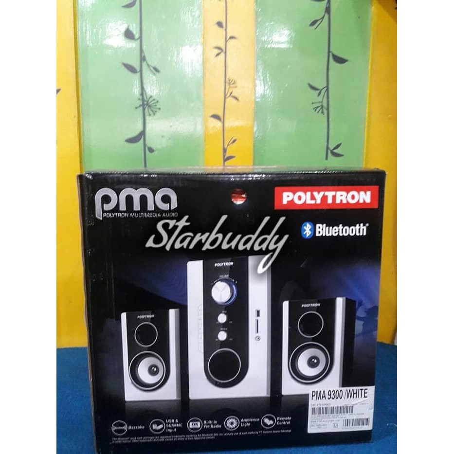 Multimedia Speaker Aktif Polytron Pma 9300 Putih Usb Mp3 Bluetooth Portable And Radio Dazumba Dw186 186 Pma9300 Shopee Indonesia