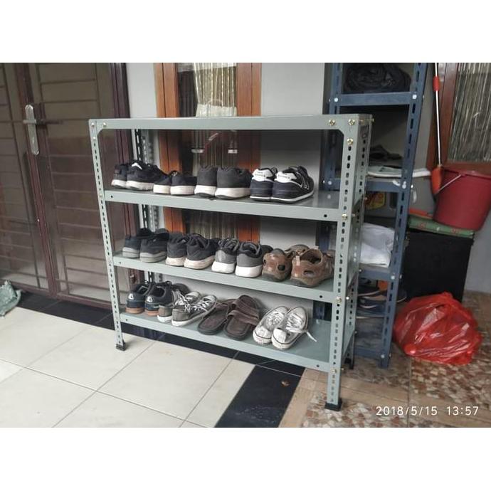 Termurah Terbaik Rak Sepatu Dari Besi Siku Shopee Indonesia