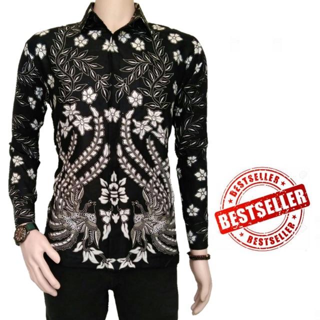 104 Gambar Baju Batik Pria Shopee Terlihat Keren