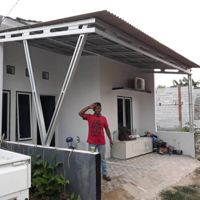 Kanopi Baja Ringan Atap Asbes Shopee Indonesia