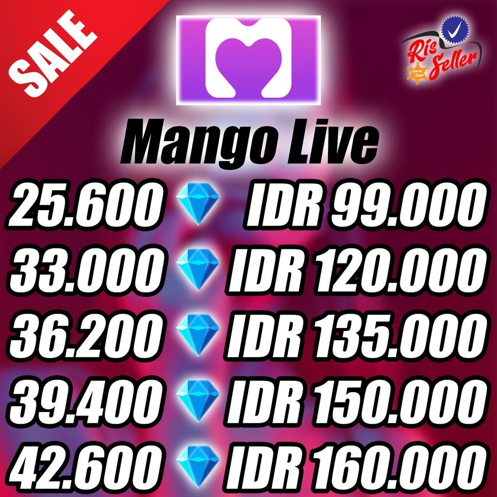 TOP UP Mango Live Diamond Topup - Topup Diamond Mango Live - Topup Mango Live TOP UP