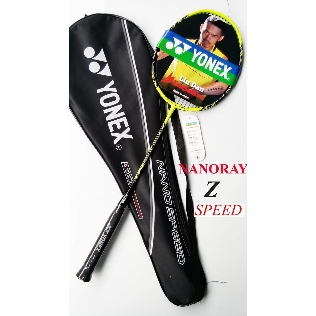 RAKET BADMINTON YONEX NANORAY Z SPEED RAKET SMASH Raket Z KUNING dan MERAH IMPORT   Shopee Indonesia