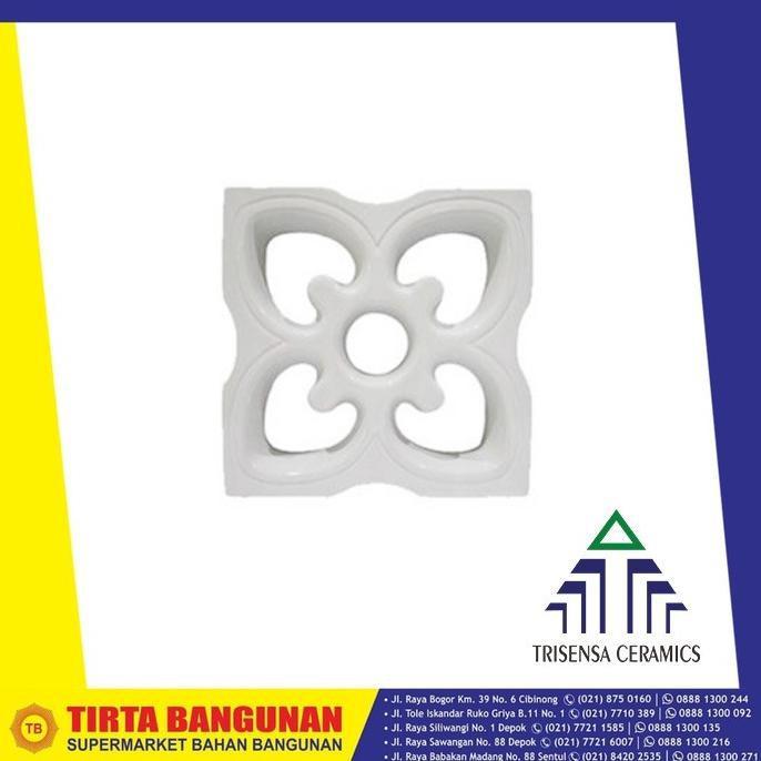 Roster Keramik Trisensa 20X20 Ro7B Continental Putih Original