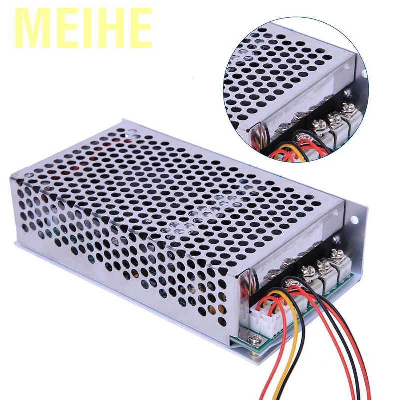 PWM Speed Controller Stable 10-50V 100A 5000W DC Motor Speed Controller Speed Regulator PWM Control Switch Governor for Car Cooling Fan Motor//Car Air Conditioning Motor//Exhaust Blower