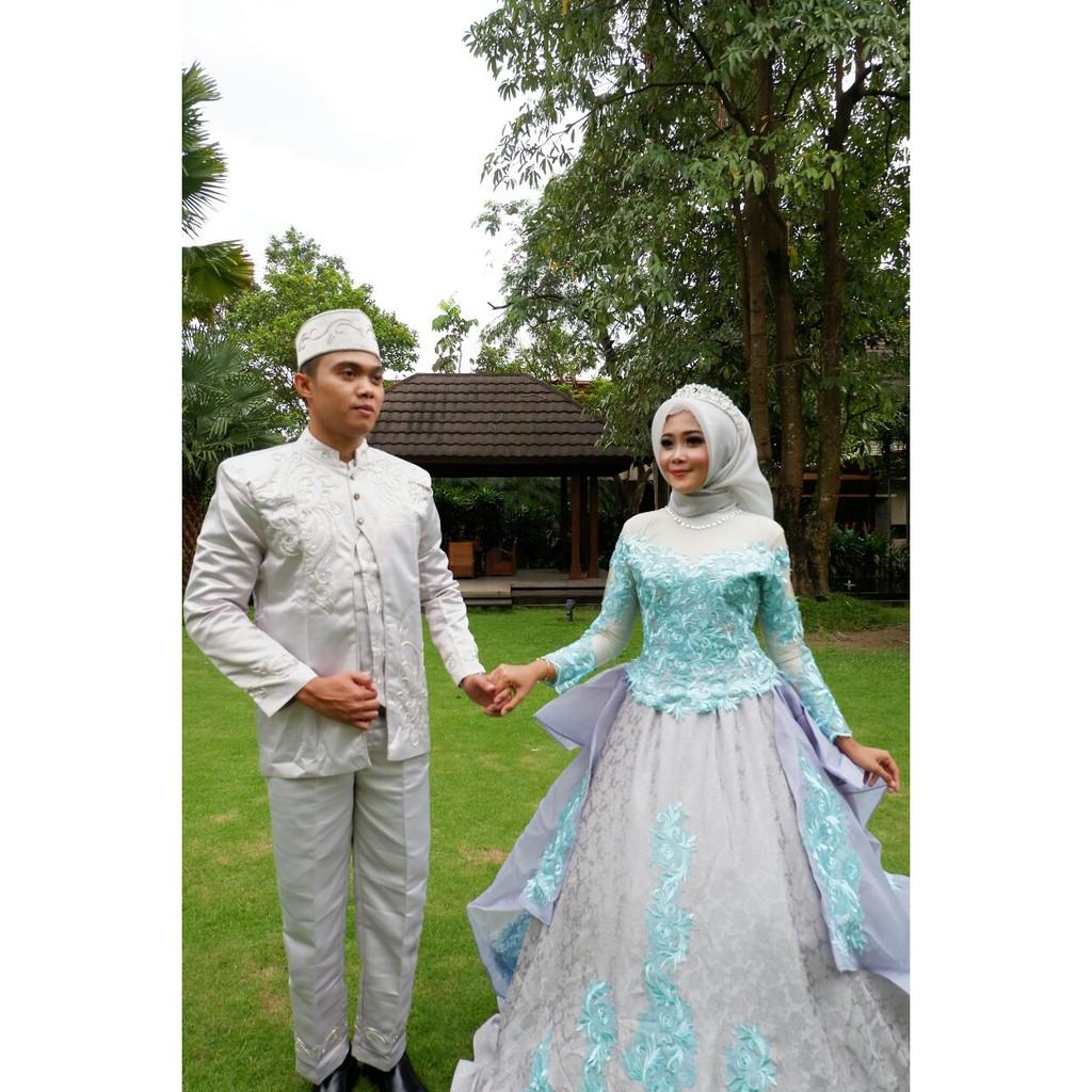 PROMO Gaun pengantin bridal gaun murah gaun mewah gaun tanah abang gaun  modern cantik