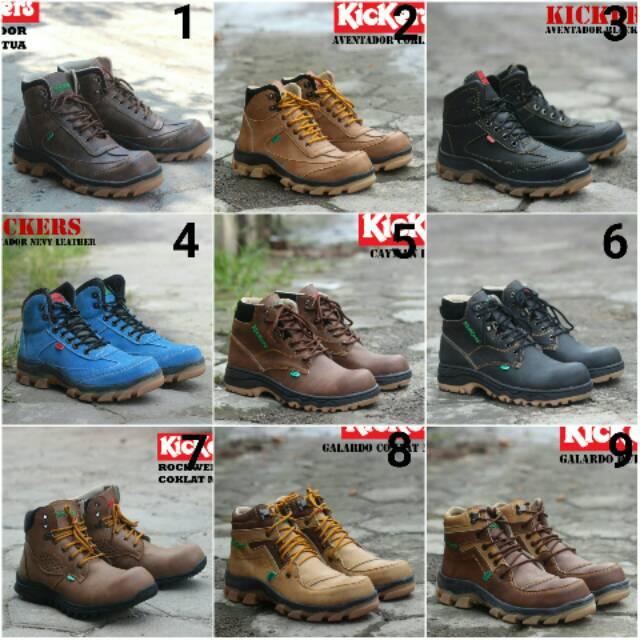Sepatu Kickers Safety Boots Collection T01  bc46a35c30