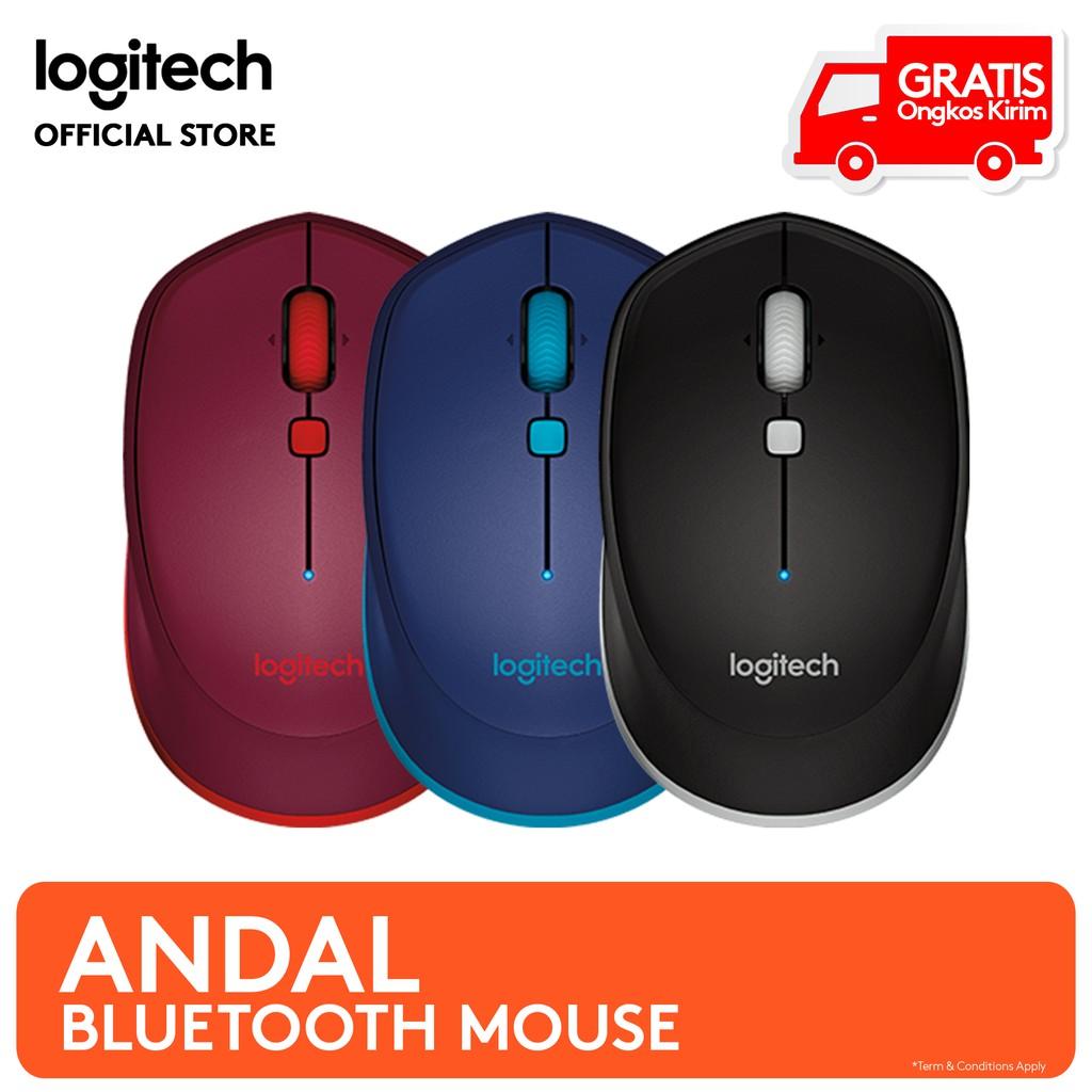 Logitech M585 Wireless Mouse Shopee Indonesia Bluetooth