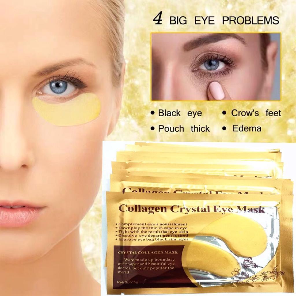 Eye Mask dengan Collagen Efek Menghilangkan Dark Circle untuk Area Mata 1