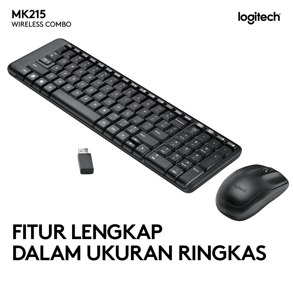 Logitech MK215 Wireless Combo Keyboard Mouse-1
