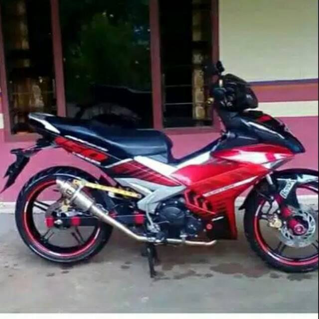 Knalpot Rcb Road Race Mx King Jupiter Z Jupiter Mx Old Mx New Supra Gtr Satria Fu Sonic Shopee Indonesia