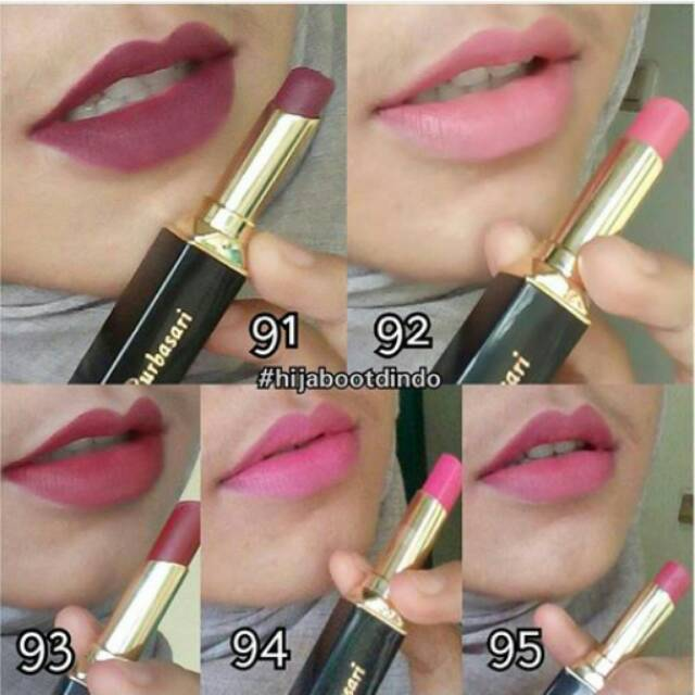 New shade purbasari lipstick color matte 91 92 93 94 95 | Shopee Indonesia