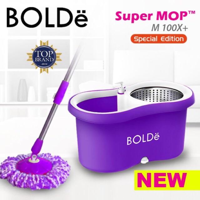 Super MOP BOLDe M 100 x + Special Edition ( corong air dan tempat sabun Stainless