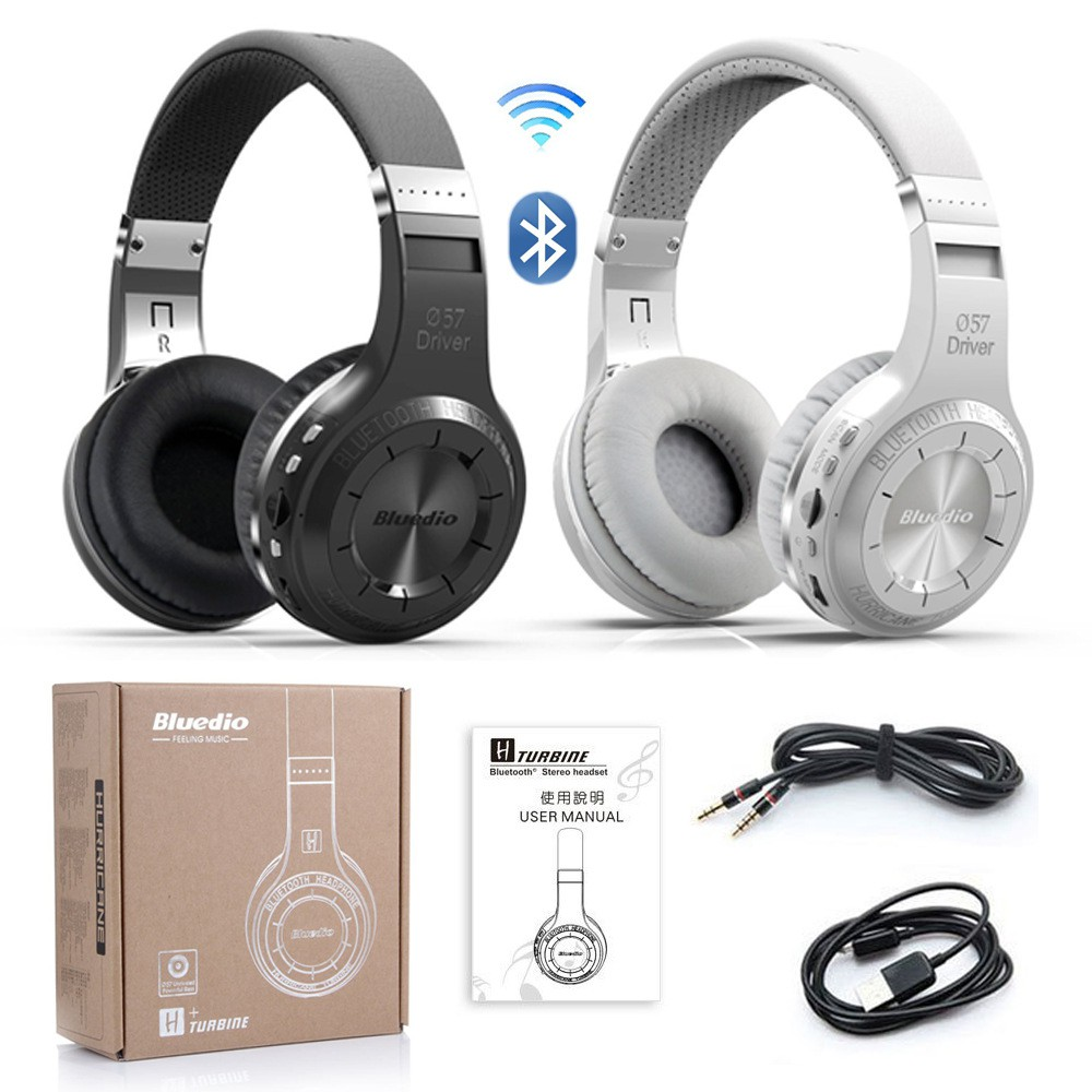 Bluedio T4S Active Noise Cancelling Wireless Bluetooth Headphones | Shopee Indonesia