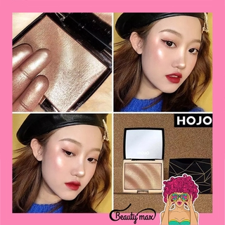 HOJO Highlighter Pallette Waterproof Glitter Highlighter Make up Shimmer Bronzer Tersedia 3 warna thumbnail
