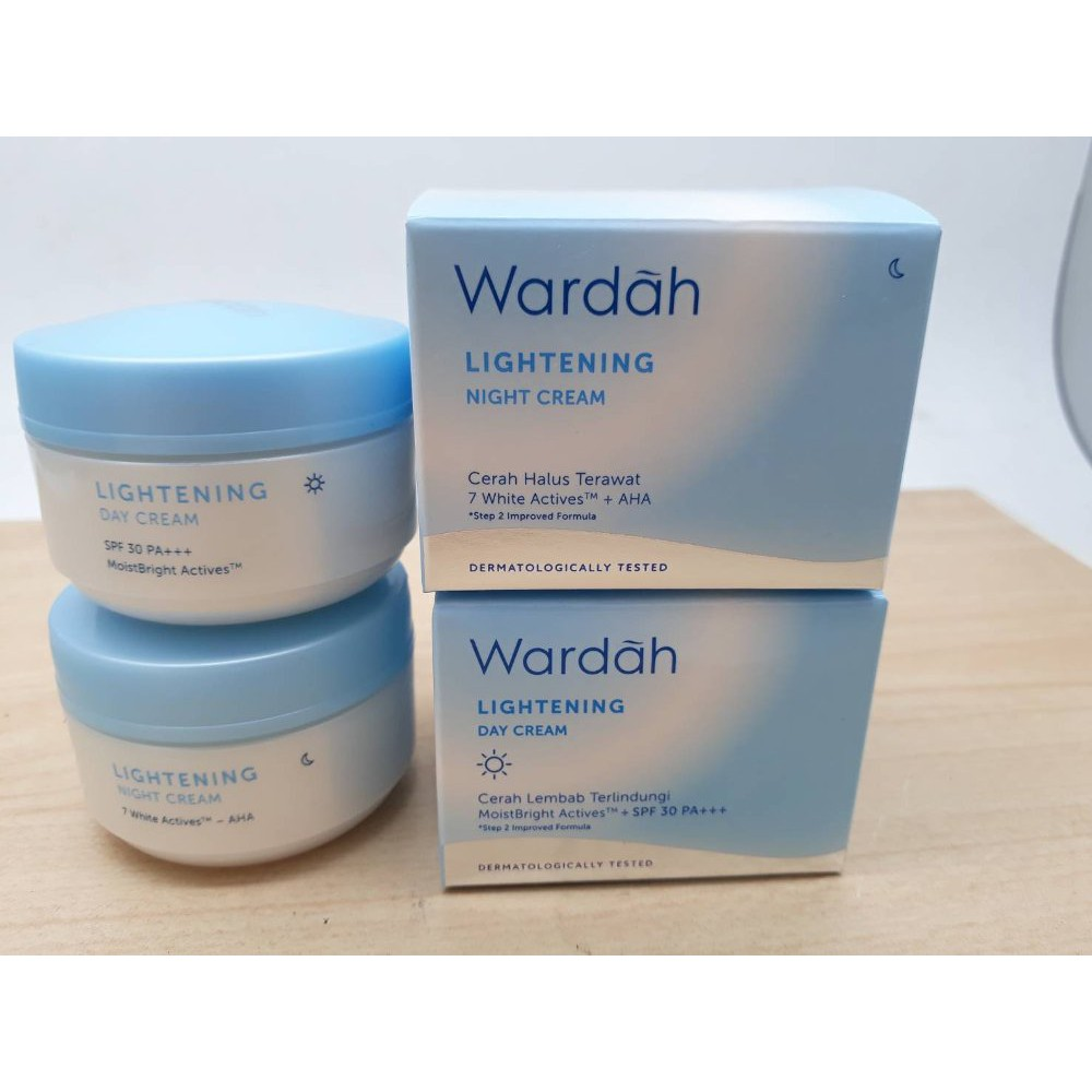 Kemasan Baru Wardah Lightening Day Cream Krim Siang 30 Gram Pot Spf 20 Ml Shopee Indonesia