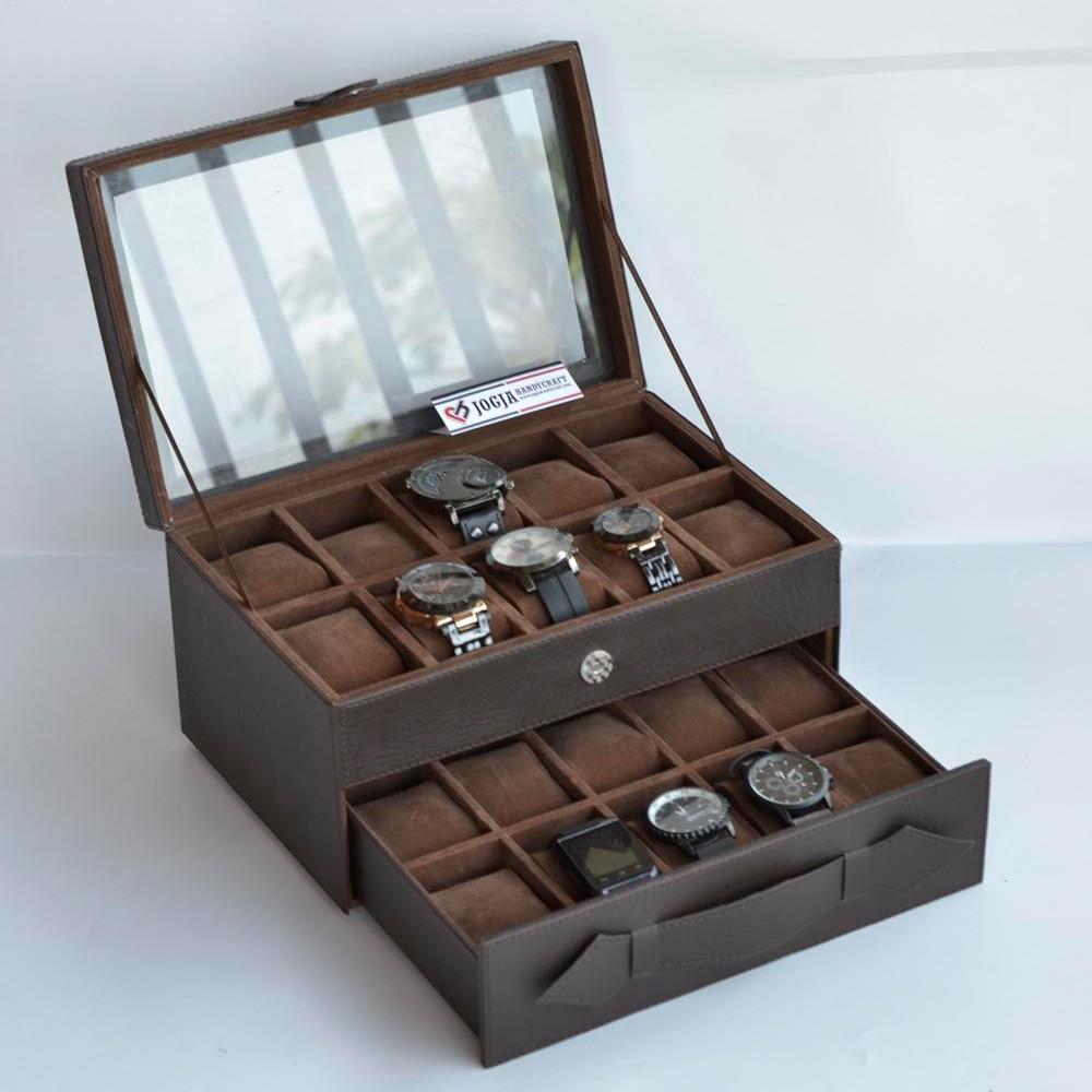 Box Jam Tangan isi 12 Atau Kotak Tempat Jam Tangan isi 12  f8806e9c78
