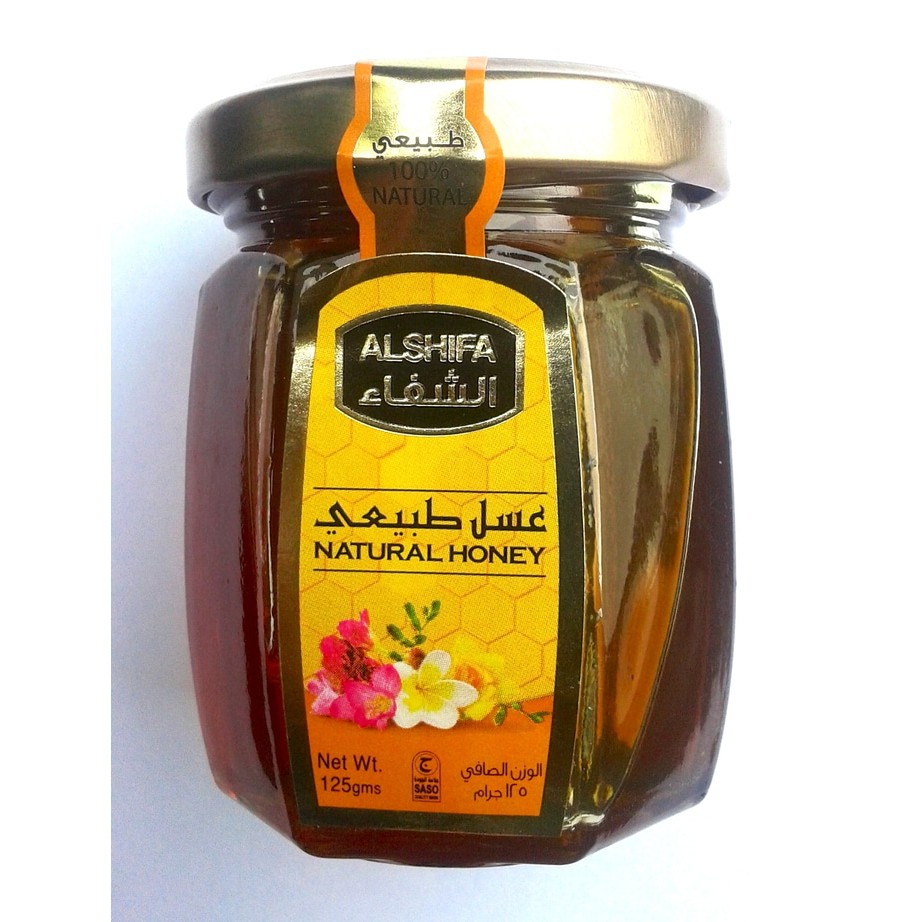 Madu Arab Al Shifa Natural Honey Glass Bottle 125 Gr Shopee Indonesia Alshifa Acacia 500gr