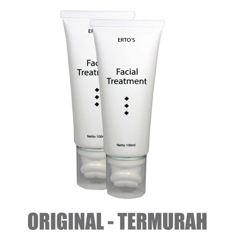 Kf 110 Ertos Facial Treatment 100 Ml Erto Face Original Gel Dan Sikat Pembersih Wajah Bpom Shopee Indonesia
