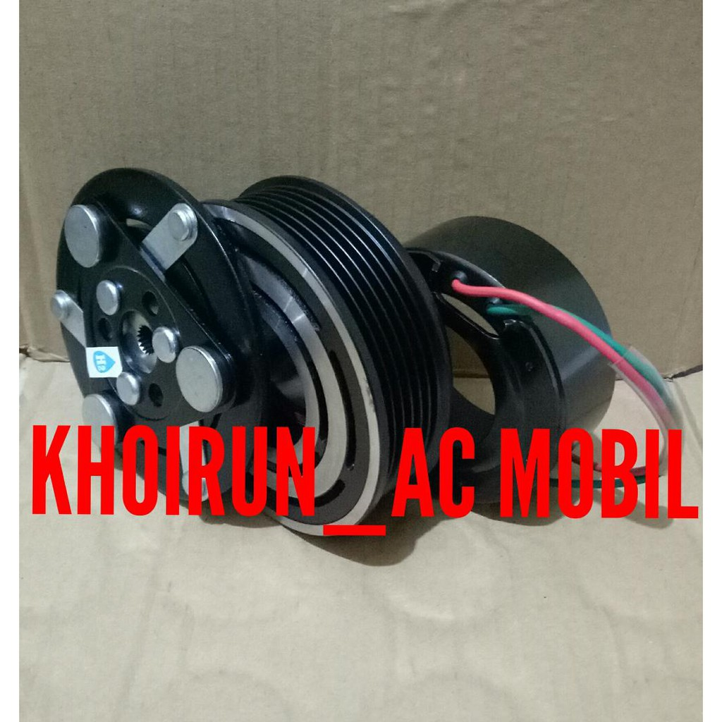 Tutup Belakang Model Sanden 7h15 Kompresor Pantat Compressor Ac Honda Brio Ori Mobil Shopee Indonesia