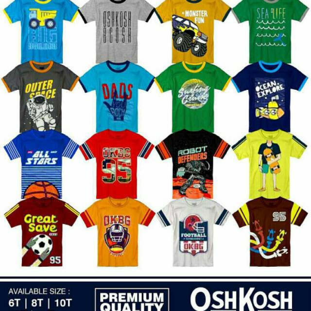 Ecer GROSIR Paket Usaha Kaos OSHKOSH Girls Tee China aa994ab23c