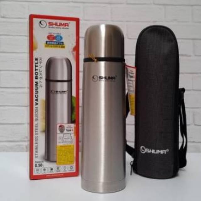 Termos SHUMA Botol Minum Air Panas dan Dingin Stainless Steel Vacuum Flask Lima Kapasitas Volume   Shopee Indonesia