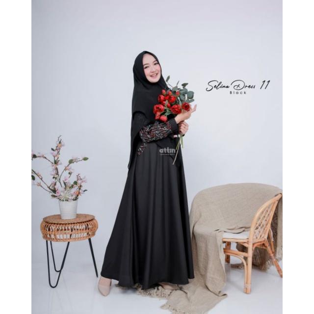 Selina Dress Attin / Gamis Selina Attin