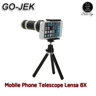 Flash Deal Lensa Telezoom 8X Tripod Tele Zoom Universal Lensa Smartphone Handphone Dan Tablet 20 -