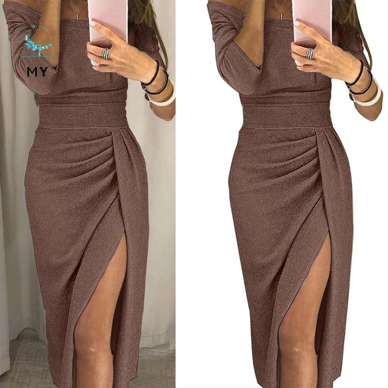 Ladies Slim Bodycon Dress Size Medium