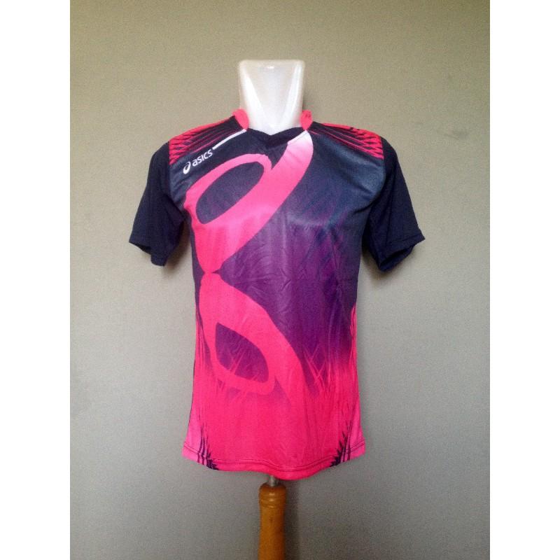 Baju Olahraga Kaos Voli Jersey Volley Asics Mizuno Molten Murah ... 937f00080f