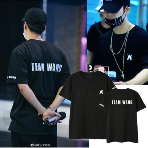 Kaos T Shirt Dengan Motif Print Got7 Kpop Jackson Wang Tour Shopee Indonesia