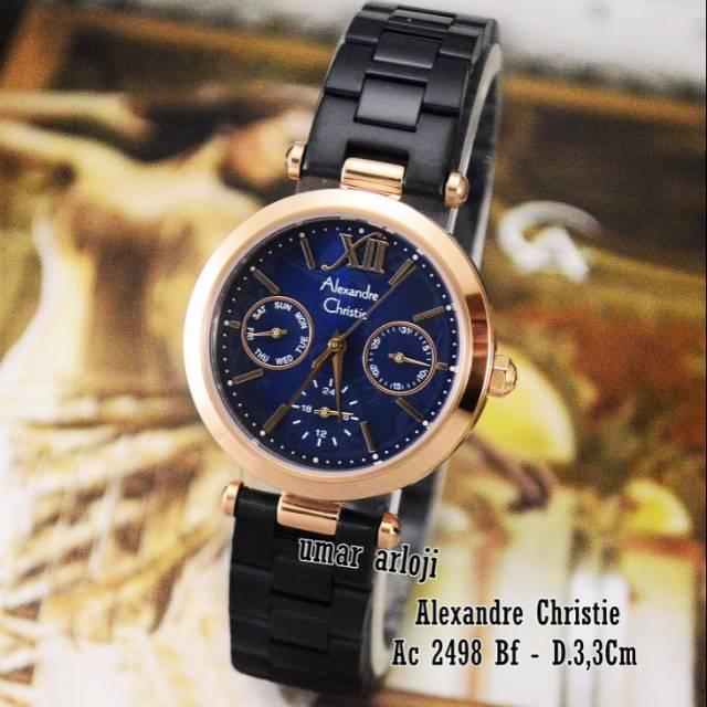Jam Tangan Wanita Alexandre Christie Ac 2498 BF Original Fashion Wanita | Shopee Indonesia