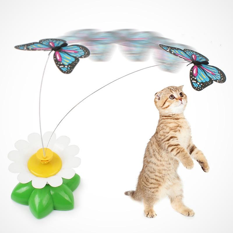 Mainan Kucing Kucing Listrik Bisa Terbang Kupu Kupu Lucu Kucing Tongkat Remote Control Palsu Tikus K Shopee Indonesia