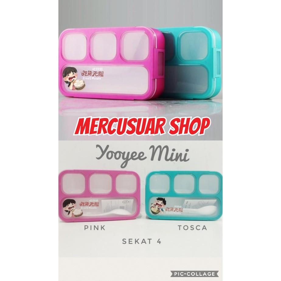 Dapatkan Harga Lunch Box Yooyee Diskon Shopee Indonesia Leakproof 578 Kotak Makan Anti Bocor Tosca