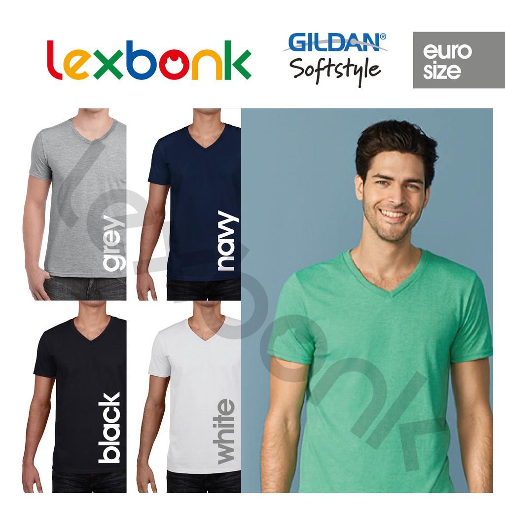 Kaos Polos Gildan Softstyle Big Size Xxl Original Shopee Indonesia 63000  Jakarta
