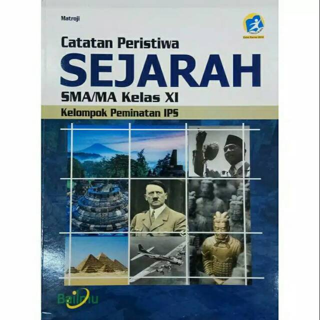 Pelajaran Sejarah Peminatan Kelas Xi 11 Sma Revisi 2016 Bailmu Shopee Indonesia