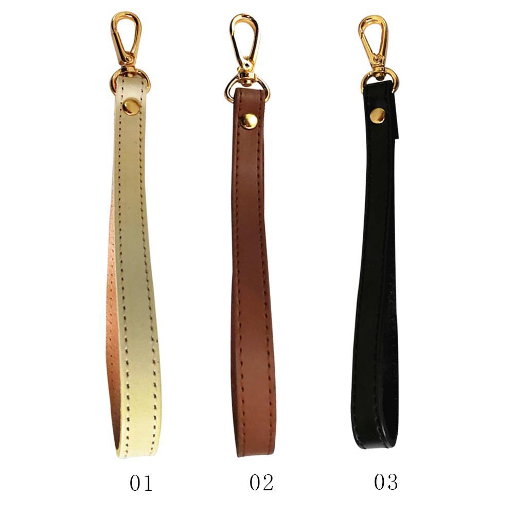 Leather Wristlet Wrist Bag Strap Replacement For Clutch Purse Wallets Handbag